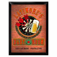 Dart Room Pub Sign - Free Personalization