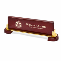 Desktop Name Plate For Dentists - Personalized