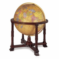 Diplomat Floor Globe In Antique by Replogle Globes