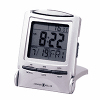 Distant Time Traveler Travel Alarm Clock by Howard Miller - Discontinued