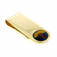Doctor's Cadeseus Symbol  Money Clip - Discontinued