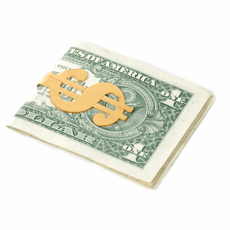 Dollar Sign French Fold Money Clip -Discontinued