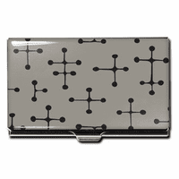 """Dots - Gray"" Business Card Case"