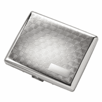 Double Sided Engravable Cigarette Case for Kings & 100s #S-04S