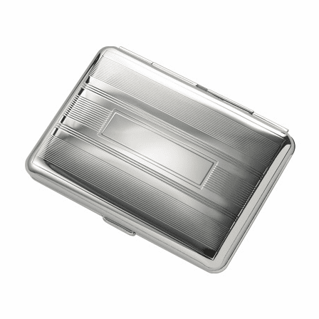 Double Sided Engravalbe Cigarette Case for Kings