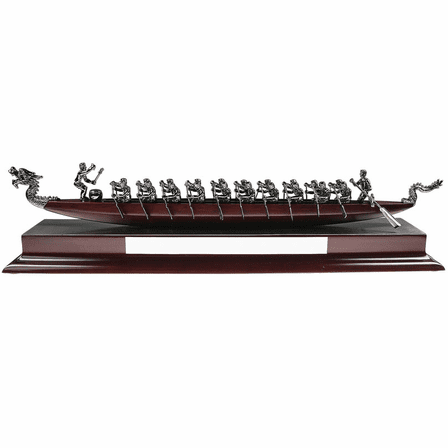 Dragon Boat Desktop Sculpture