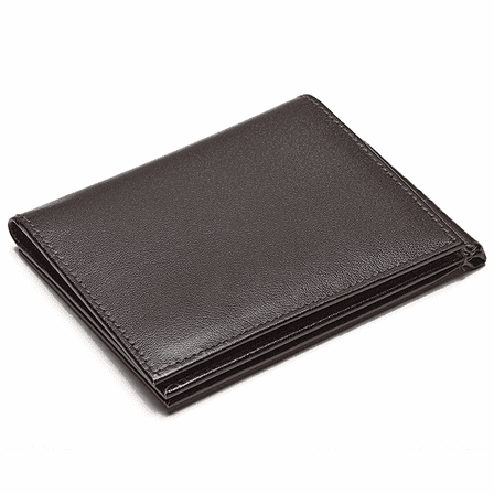 Dual Opening Personalized Credit Card Holder with Money Clip