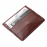 Eel Skin Collection Credit Card Holder