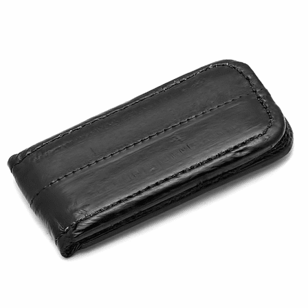 Eel Skin Collection Magnetic Money Clip