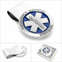 Emergency Medical Services (E.M.S) Money Clip