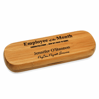 Employee Of The Month Bamboo Pen Set
