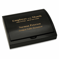 Employee Of The Month Pen and Card Case Gift Set