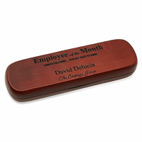 Employee Of The Month Rosewood Dual Pen Set