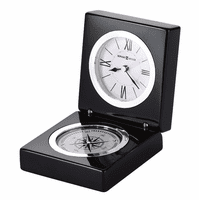 Endeavor Desktop Compass & Clock by Howard Miller