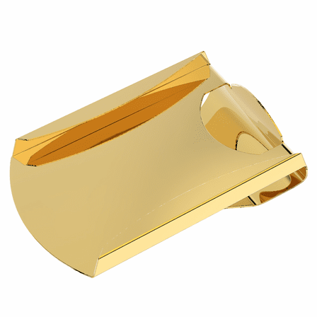 Engraved Smart Money Clip & Credit Card Holder - Gold