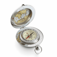 Engraved Voyager Compass by Dalvey - Discontinued