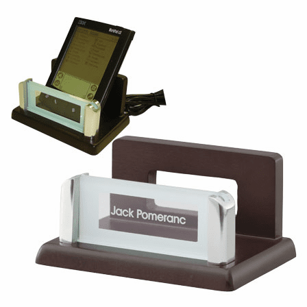 Espresso Finish Wood PDA / Cell Phone Stand