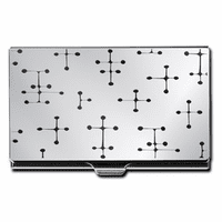 Etched Dots Design Business Card Case - Discontinued