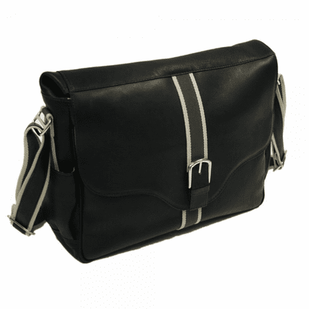 European Messenger Bag by Piel Leather - Free Personalization