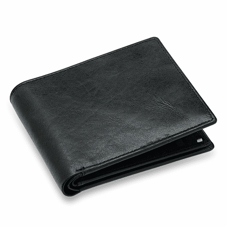 Executive Collection RFID Blocking Bifold Wallet with Double ID Holder