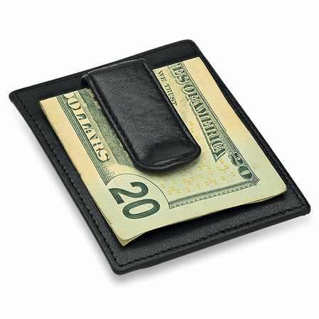Executive Collection RFID Blocking Card Holder with Money Clip