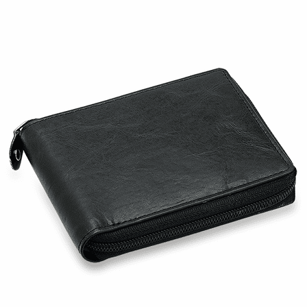 Executive Collection RFID Blocking Zipper Wallet
