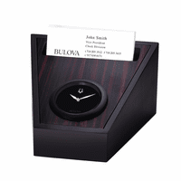 Executive Galleria Collection Clock By Bulova