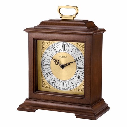 Exeter Chiming Mantel Clock By Bulova - Discontinued