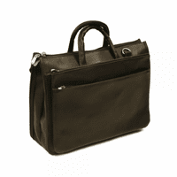 Expandable Briefcase by Piel Leather - Free Personalization