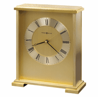 Exton Brass Carriage Clock by Howard Miller