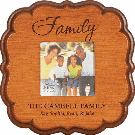 """Family Personalized  4"""" x 6"""" Picture Frame"""
