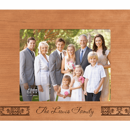 "Family Personalized 8"" x 10"" Picture Frame"