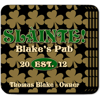 Field Of Clovers Coaster Set - Free Personalization