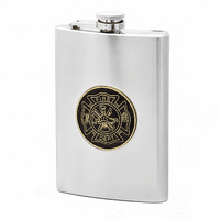 Fire Department Themed Flask - Discontinued