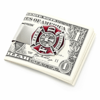 Firefighter Money Clip