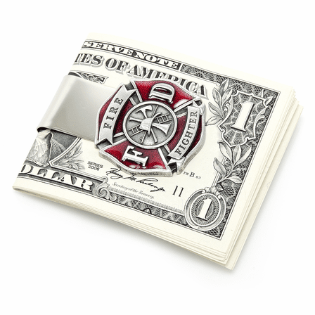 Firefighter Money Clip - Discontinued