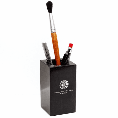 Firefighter's Desktop Pen & Pencil Cup