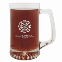 Firefighter's Personalized 25 Ounce Sports Mug