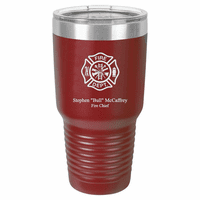 Firefighter's Personalized 30 Ounce Polar Camel Tumbler