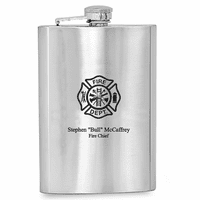 Firefighter's Personalized Flask