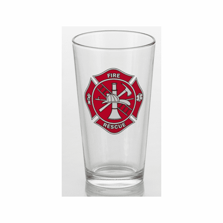 Firefighter's Pint Glass