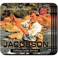 Fishing Guide Coaster Set - Free Personalization
