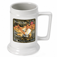 Fishing Guide German Beer Stein - Discontinued