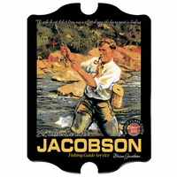 Fishing Guide Vintage Pub Sign - Free Personalization
