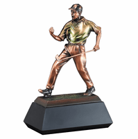Fist Pump Golfer Personalized Award