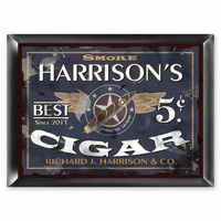 Five Cent Cigar Pub Sign - Free Personalization