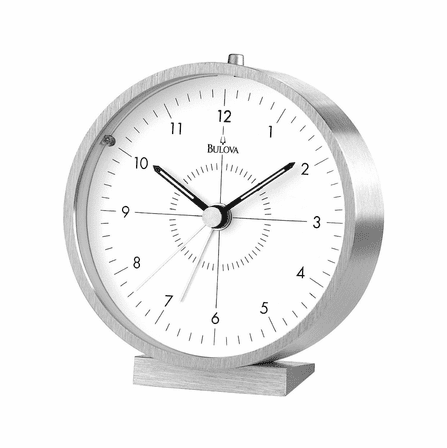 Flair Alarm Clock By Bulova