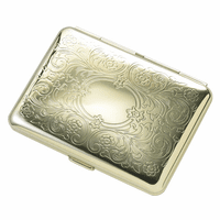 Fluer De Lis Personalized Cigarette Case for Kings