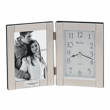 Forte II Picture Frame Collection Clock by Bulova