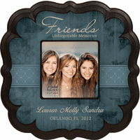 "Friends Personalized  4"" x 4"" Picture Frame"
